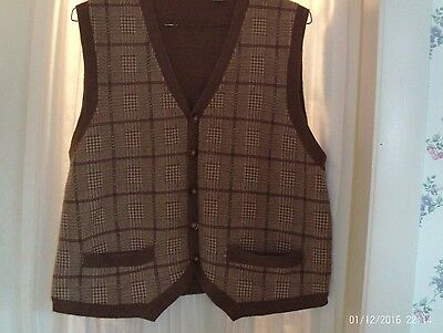 Orvis 100% wool size large men's vest