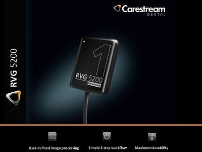 Carestream Kodak RVG 5200 Digital X-Ray Sensor for dental X-Ray Size 1 !!