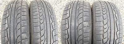 4X Kumho Winter Tyres 205/65/15 94H Part Worn 7mm+