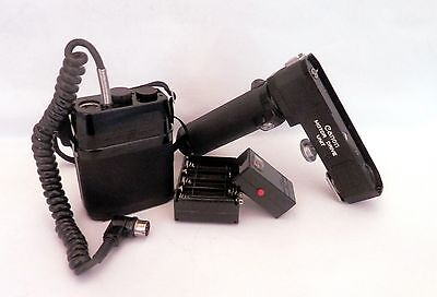 Canon F1 Motor Drive Outfit - Battery Connector, Checker, Cartridge & Case #635