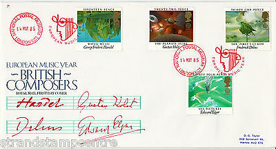 1985 Composers - PO - National Postal Museum H/S