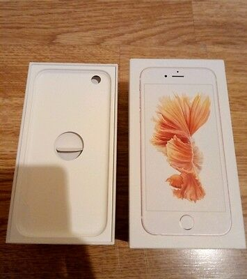 iphone 6s 16GB rose gold (box only)