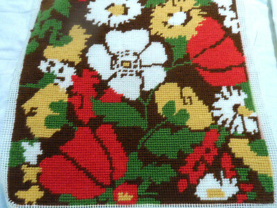 Completed tapestry panel 15ins by 15ins