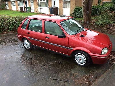 1998 ROVER 100 ASCOT SE RED spares repairs project