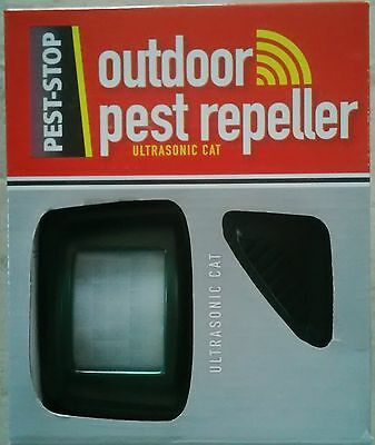 Cat Repeller, Ultrasonic, By Pest-Stop