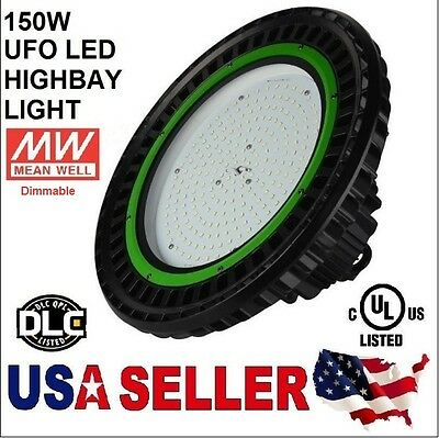 UFO 150W LED High Bay Light UL cUL DLC 20500LM MEANWELL IP65 PHILIPS LED OUTDOOR