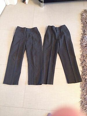 Boys Marks And Spencer School Trousers 5-6
