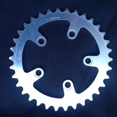 New SR Chainring 34T BCD 74, 43.5mm Between Adjacent Holes.