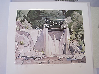 A. J. Casson - Old Country Dam - Signed Limited Edition Print (Group of Seven)