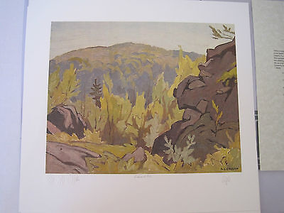 A. J. Casson - Diamond Lake - Signed Limited Edition Print (Group of Seven)