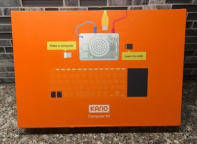 BRAND NEW SEALED Kano Computer Kit Build A Computer & Learn To Code 1000G-02