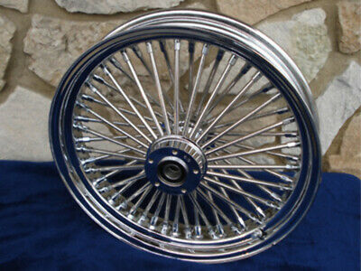 """21X3.5"""" Dna Mammoth 52 Fat Spoke Front Wheel For Harley Touring 2008 Up W/abs"""