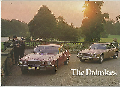 """ The Daimlers ""      Sales Brochure."