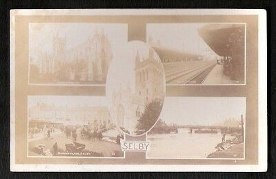 Selby Multi View Photo  Postcard