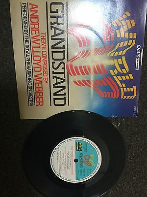 "Andrew Lloyd Webber- World Cup Grandstand Theme- 45RPM VINYL 7"" SINGLE"