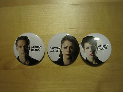 Orphan Black Pins Set of Three - Fan Expo/Space Exclusives