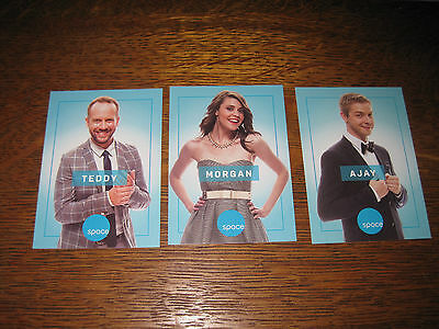 INNER SPACE Space Deck Trading Cards -Set of THREE - Fan Expo Canada