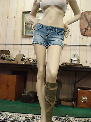 Original WW2 Japanese Army Single (1) Leggings, Gaiters, Puttees IJA Wool Canvas