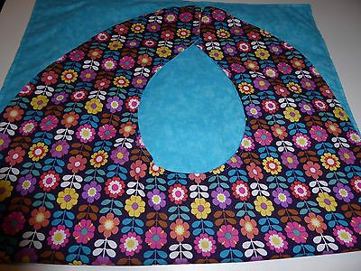 Adult Bibs /cover-ups for adults, seniors, disabled; FLOWERS OF ALL COLORS
