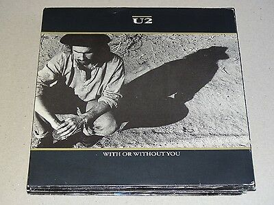 """U2 - With Or Without You 7"""" Top Single 119"""