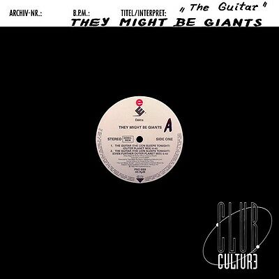 """They Might Be Giants - The Guitar (The Lion Sleeps Tonight) Vinyl 12"""" 0713116"""