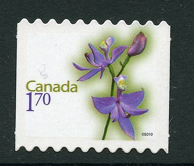 Weeda Canada 2364i VF NH Die cut Flower booklet single, from Annual Collection