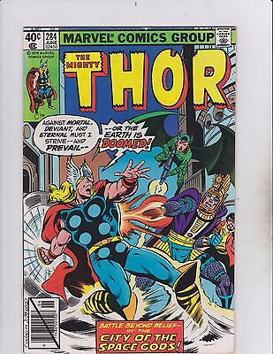 Marvel Comics! The Mighty Thor! Issue 284!