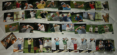 38 Golf Trading Cards Mint Condition Nicklaus Montgomerie Palmer Garcia Couples