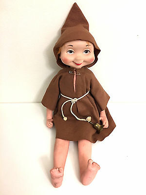 Vintage Freddy the Friar Whimsie Doll American Character 1960 Large 23""