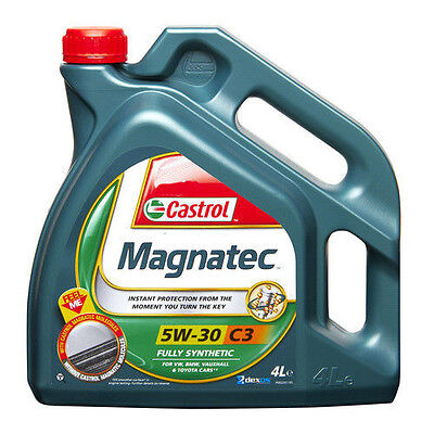 Castrol Magnatec Engine Oil 5w30 C3 Fully Synthetic 4Litre Engine Oil 4L Dexos 2