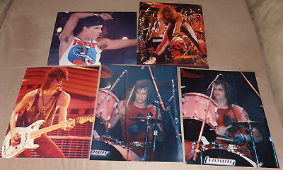 RATT WARREN DEMARTINI STEPHEN PEARCY   5 original photos      8x 10