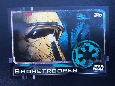 TOPPS STAR WARS ROGUE ONE - Shore trooper #30