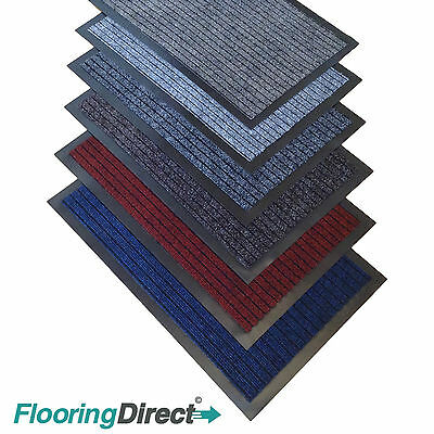 Small Large Kitchen Heavy Duty Barrier Mat Non Slip Rubber Back Door Hall Rugs