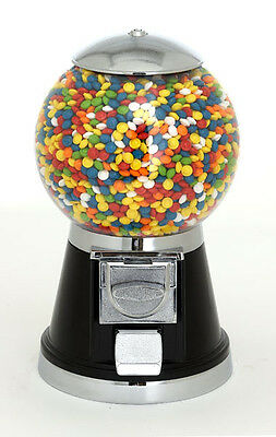 Classic Bubble Gumball Candy Vending Machine BLACK - NEW