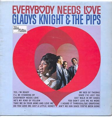 """Gladys Knight And The Pips - Everybody Needs Love - 12"""" Vinyl Lp"""