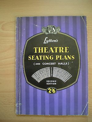Lyttons Theatre Seating Plans (And Concert Halls) - 1955