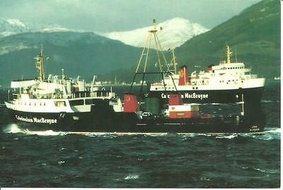 MacBRAYNE STEAMERS passing each other Firth of Clyde Gourock Rothesay Dunoon