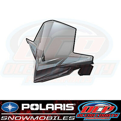 New Pure Polaris Snowmobile Axys Models Oem Factory Smoke Extra Tall Windshield