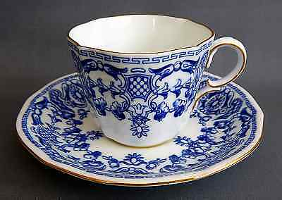 A Royal Crown Derby, Pattern 5214, Cup & Saucer Duo