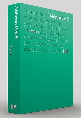 ABLETON Live Intro 9 Boxed Audio-Sequencer