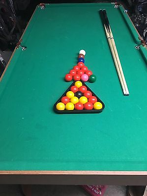 Hypro 6ft Folding Snooker Table