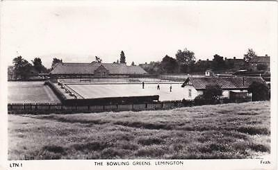 Rp Lemington Bowling Greens Newcastle  Real Photo Tyne & Wear Posted 1960