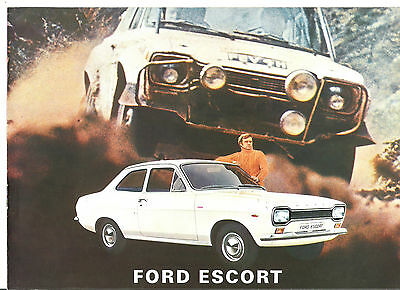 FORD ESCORT - 1971 // catalogue brochure prospekt dépliant catalog prospectus