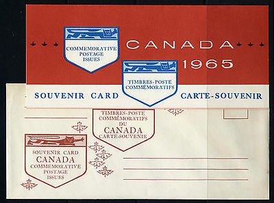 Weeda Canada VF 1965 Annual Souvenir Card #7 in original envelope CV$ 7.50