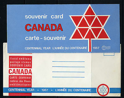 Weeda Canada VF 1967 Annual Souvenir Card #9 in original envelope CV $5
