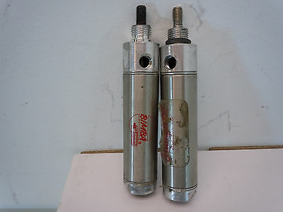 Bimba Stainless Pneumatic Air Cylinder 092-D #yj Lot Of 2