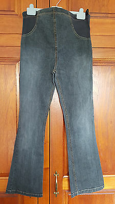 Size 8 Mothercare maternity grey jeans