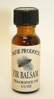 BALSAM FIR Fragrance Oil diffuser potpourri Paine Products lodge scent essential