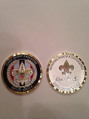 SURGE Chief Scout Executive, Wayne Brock, Challenge Coin