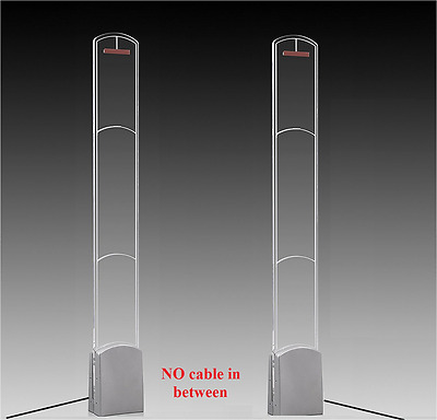 NO Cable in-between EAS Acrylic Anti Theft Security System CHECKPOINT compatible